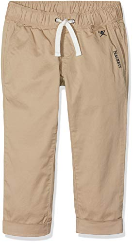 Hackett Beach Pant Pantalones, Marrón (Safari 734), 134/140 (Talla del Fabricante: 9-10 años) para Niños