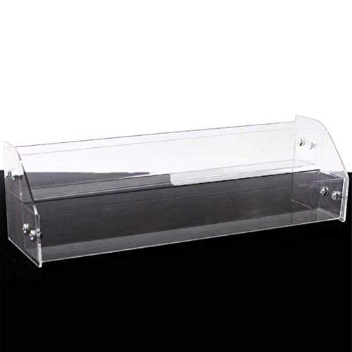 Kakymjxnj Présentoir de comptoir à lèvres 2 niveaux Transparent pour vernis à ongles