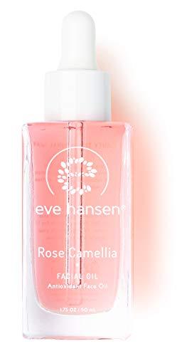 Eve Hansen Face Oil for Skin Rejuvenation - Hydrate and Reduce Skin Damage w Camellia Oil Face Moisturizer - 1.7 Oz -