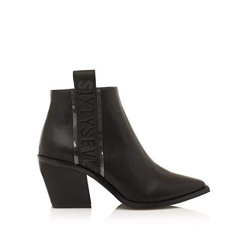 SIXTY SEVEN Bottines pour Femme 30359 C23421 Leather Negro Taille 41 EU