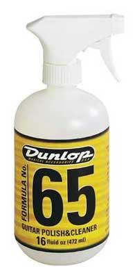 Dunlop 6516 Formula 65 Guitar Polish & Cleaner 16oz.