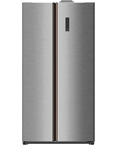 AKAI frigorifero side-by-side SBSL60W91S Libera installazione 518 L A+ Colore Inox