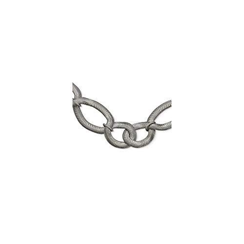 De acero inoxidable de círculos intercomunicados 41,91 cm Con Ext collar -...
