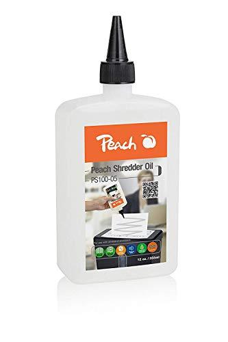 Peach Aktenvernichter-Öl PS100-05 |Inhalt 355 ml | die Pflege für Ihren Aktenvernichter | für alle Aktenvernichter geeignet
