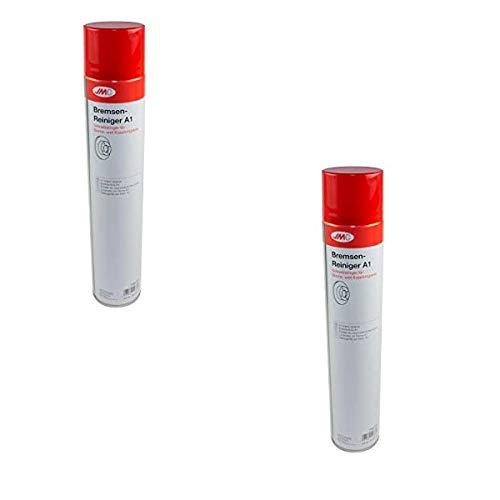 Generico 2 Pezzi PULITORE per Freni Freno Spray 750ML Ottimo SGRASSATORE per Parti MECCANICHE JMC