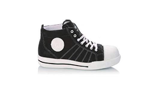 2work4 Sicherheitsschuhe S1P Sicherheitsschuhe 2WORK4 Sneaker BLACK 35 Schwarz