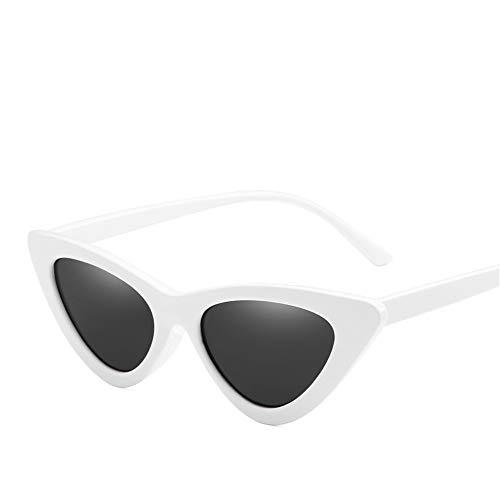 DURIAN MANGO Herren- und Damen-Sonnenbrillen Fashion Triangle Transparent Cat's Eye Sunshade,style5