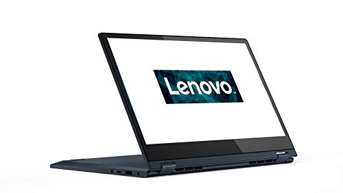 Lenovo IdeaPad C340 35,6 cm (14 Zoll, 1920x1080, FHD, IPS, Touch) Convertible Notebook (Intel Pentium 5405U, 4GB RAM, 128GB SSD, Intel UHD-Grafik 610, Windows 10 Home S) dunkelblau