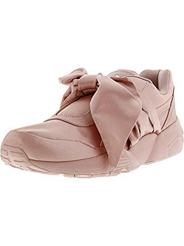 PUMA Women's Fenty x Bow Trinomic Sneakers, Silver Pink/Silver Pink, 8.5 B(M) US
