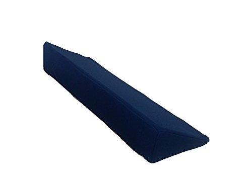 高反発・三角クッション L 【介護・体位変換・サポート・床ずれ防止】 (BL/ブルー)