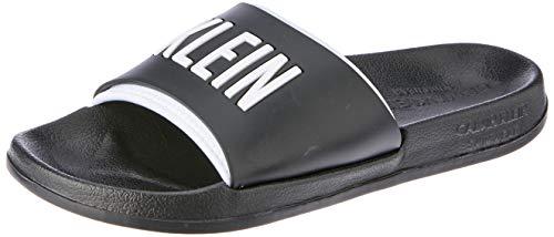 Calvin Klein Herren Sandalen Logo schwarz 45/46