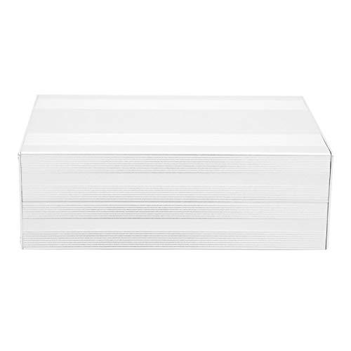 Demeras Caja de Proyecto de Aluminio, Caja de Caja electrónica Buena disipación de Calor para Caja de Aluminio de unión de PCB