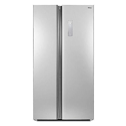 Refrigerador Philco Side By Side 489l Prf504i Freezer e Geladeira 110v