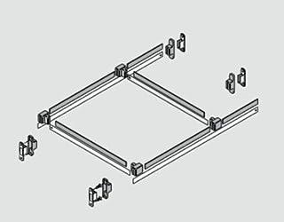 Blum ZRM.5500 TANDEMBOX METAFILE Hanging File Organization System, Dust Grey