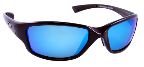 Sea Striker Bluewater Bandit Blue Mirror Polarized Sunglasses