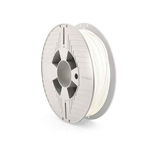 Verbatim Durabio - Filamento 3D, 500 g, 2,85 mm, colore: Bianco