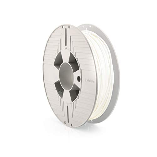 Verbatim 55512 Primalloy Filament, 2.85mm 0.5kg - White