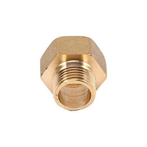 Adaptador de tubo reductor de tubería de agua con buje hexagonal para purificador de agua para calefacción por suelo radiante para prefiltro