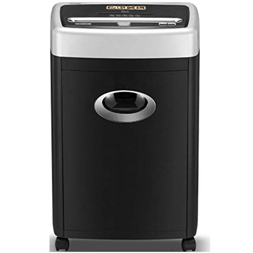 La trituradora de papel doméstica de oficina, trituradora de papel de alta velocidad de 2 × 8 mm, puede triturar papel/CD, tecnología de parada táctil inteligente