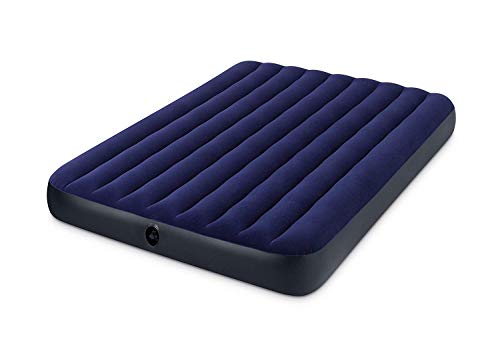 Intex -Inflatable bed Downy Queen double, extra long and wide