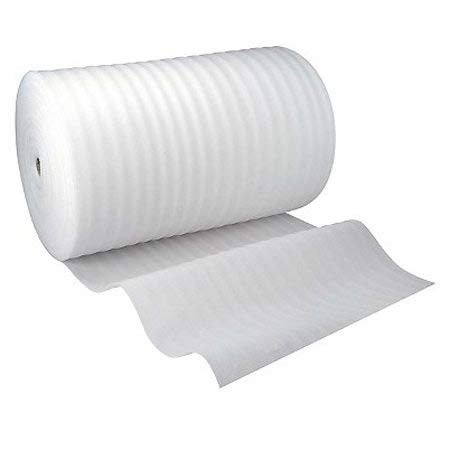 Foam Wrapping Roll for Underlay Packing, Wrapping, Protection, Cushioning,Moving (1000mm / 100cm x 15m)