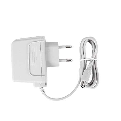 xiaocheng Interruptor de la Pared del Cargador del Adaptador del Cargador de la Pared del hogar del Cargador del Cable Compatible con 3DS 2DS NDSI NDSI LL Sistema Cargador Inteligente