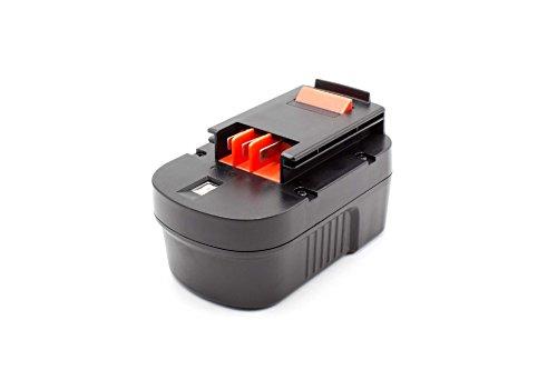 vhbw NiMH batería 1500mAh (14.4V) para Herramienta eléctrica Powertools Tools Black & Decker HP14K, HP14KD, HPD1400, HPD14K-2, HPS1440, KC2002F