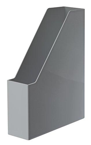 HAN Schubladenbox CONTUR – modular erweiterbares Schubladensystem, mit 10 geschlossenen Schubladen bis Format B4, dunkelgrau