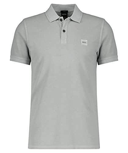 BOSS Prime Polo, Silver (043), S para Hombre