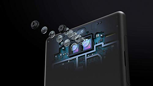Sony Xperia 10 Plus Smartphone (16,5 cm (6,5 Zoll) 21:9 Full HD+ Display, 64 GB Speicher, Dual-SIM, Split-Screen, Android 9) Silber