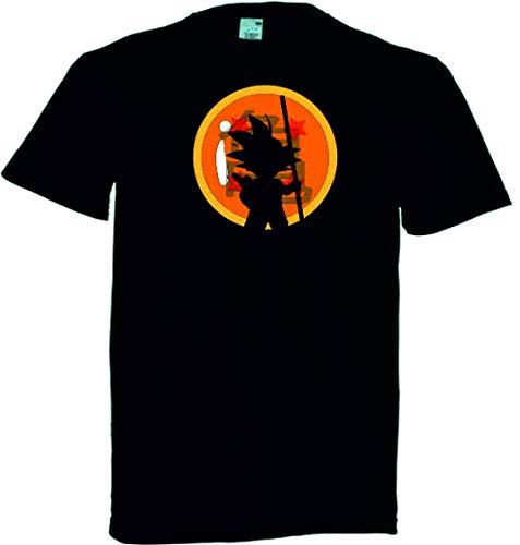 DrMugCollection Camiseta Goku Silueta Ball (M)