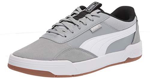 PUMA C-Skate, Zapatillas Hombre, Quarry White Black, 36 EU