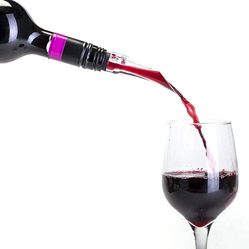 Cellardine 5 037385 000979 Reniflard de vin, plastique, clair/noir