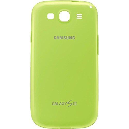 Samsung EFC-1G6PMECSTD Protective Cover in TPU per Galaxy S3, Verde