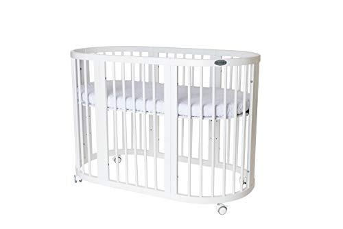 INGVART SMART Bed 9in1 wachsendes Kinderbett Oval 65x76 (125, 173) cm (mit Matratze...