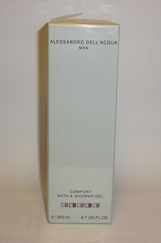 Alessandro Dell Acqua Man Bath & Shower Gel 200ml by Alessandro dell Acqua