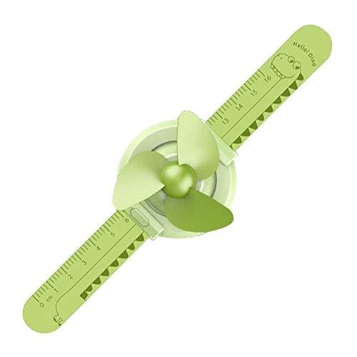 Rayber Ventilador de mesa portátil verde aguacate plástico eléctrico USB ventiladores USB para escritorio, hogar, oficina, habitación al aire libre