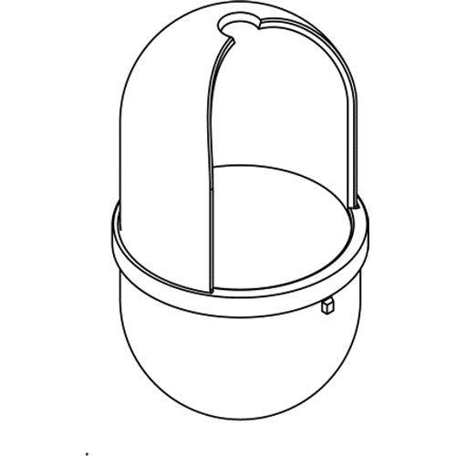 HEWI 477 - WC-Bürstenbehälter - aus Polyamid - Reinweiss