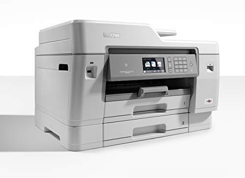 Brother MFCJ6945DW Stampante Multifunzione Inkjet a Colori fino al Formato A3, Doppio Cassetto Carta, Rete Cablata, Wi-Fi, NFC, Stampa, Copia, Scansione e Fax Fronte/Retro Automatico