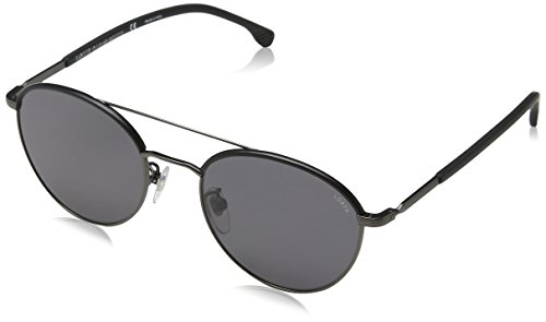 Lozza Unisex-Erwachsene COMO 3 Sonnenbrille, Grau (Matt Gunmetal)