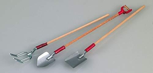 efco–Miniatur Garten Werkzeug, Mehrfarbig, 11,5–13cm, 3-teilig