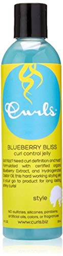 Curls Blueberry Bliss Control Jelly 8 oz (Pack of 2)