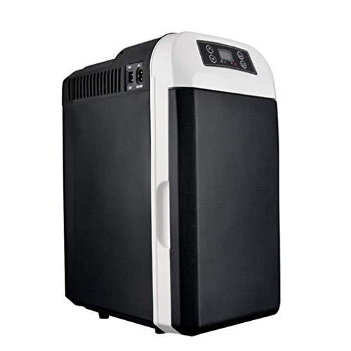 Refrigerador para automóvil de 8L, cosméticos de Doble Uso, refrigeración pequeña, Mini Dormitorio para Estudiantes, Uso Individual (Capacidad del Tanque 8L-12)