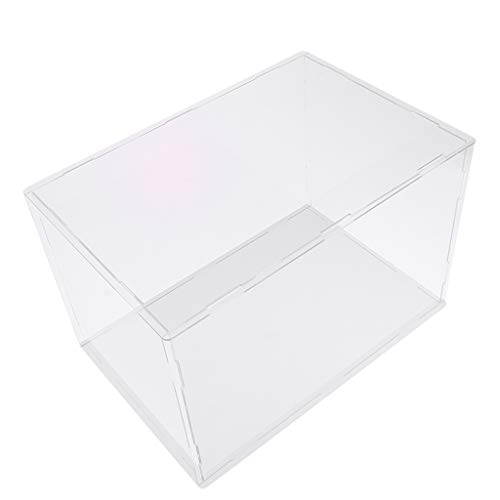 Hellery Caja De Protección Grande De Acrílico De Juguete Mostrar Vitrina A Prueba De Polvo 15x15x25cm - Claro, 40x30x30cm
