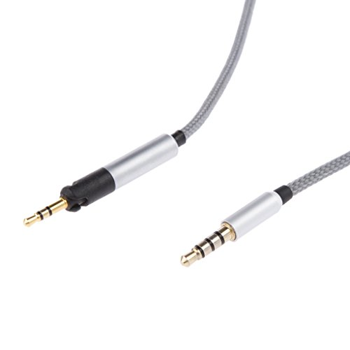 Gazechimp Ersatz Audiokabel Mit Mikrofonsteuerung Für Kopfhörer Headset ATH M50x / M40x