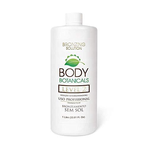 Body Botanicals | Level 2, 10% DHA Professional Sunless Tanning Solution, Organic Essential Oils, Long Lasting Spray Tanning Formula (Level 2)