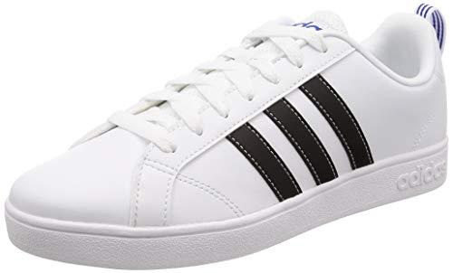 adidas Vs Advantage, Scarpe da Ginnastica Basse Uomo, Bianco White F99256, 43 EU