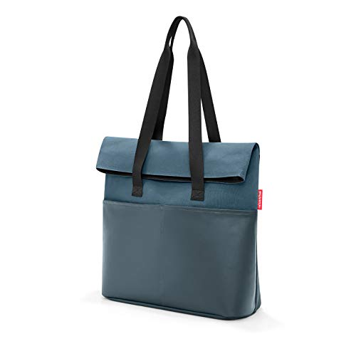 reisenthel foldbag 41 x 53 x 17 cm 23 Liter canvas blue