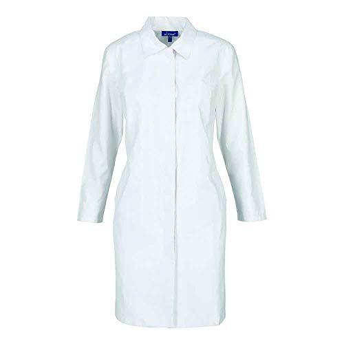 Bata Medica Dama Smith Repelente Blanco Talla XL