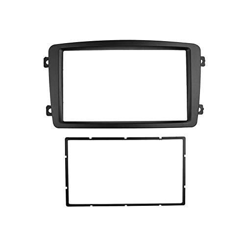 HUOGUOYIN Car Stereo Bluetooth Ajuste for el Benz Clase C W203 Fascia Radio DVD de la rociada de instalación Marco de Montaje Kit de Acabado de la Cara (Size : 178x100mm)